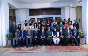 Probationary Officers of 47th Specialized Training Program with Auditor General of Pakistan at Pakistan Audit & Accounts Academy, Gulberg III, Lahore
